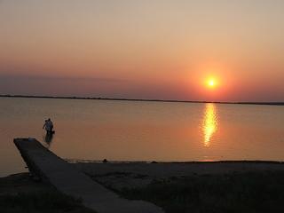 Закат на Лимане